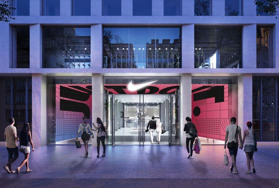 romántico Culo farmacia  Nike abrirá su nueva tienda en el corazón de Barcelona an...